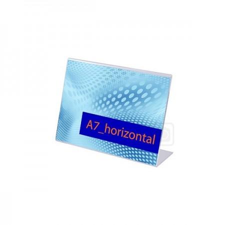 CLICKDISPLAYS-PORTACARTELES A7 HORIZONTAL